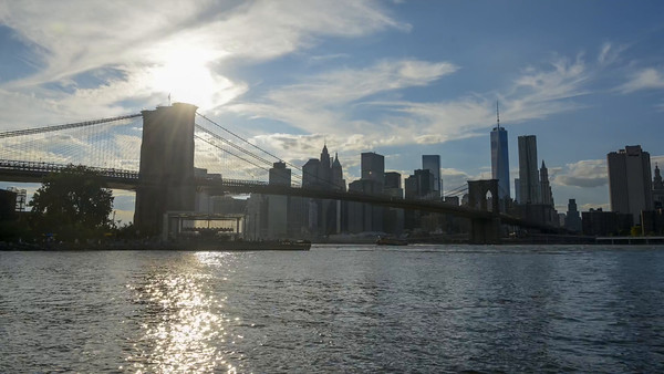 TIME LAPSE - BROOKLYN BRIDGE PARK -  07 SEP 2014